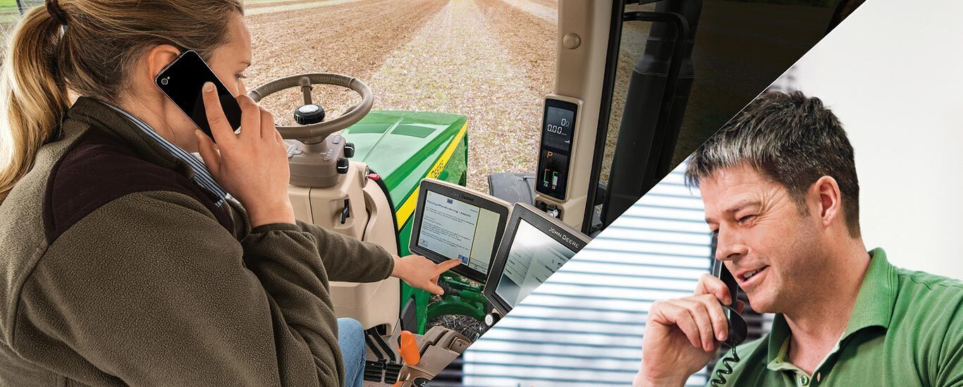 John Deere Connected Support